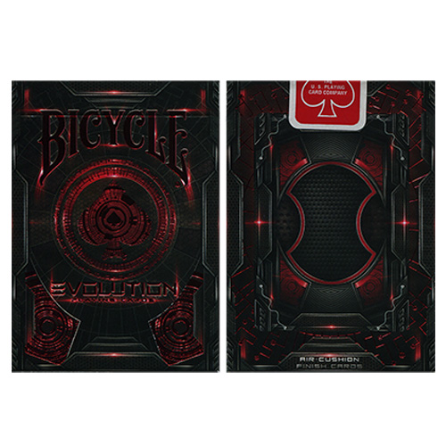 JLCC 에볼루션덱레드(Bicycle Evolution Deck(Red) by USPCC)