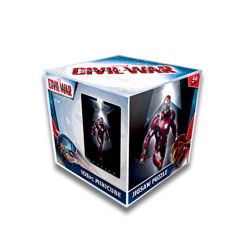 JLCC [108pcs]시빌워아이언맨퍼즐(MARVEL Iron Man Civil War Puzzle)