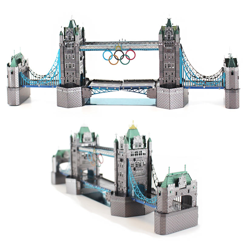 JLCC [3D컬러메탈퍼즐]런던타워브릿지(3D Color Metal Puzzle-London Tower Bridge)