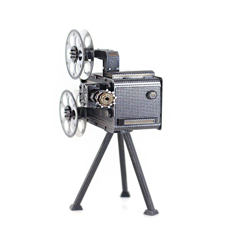 JLCC 3D컬러메탈퍼즐]영사기(3D Color Metal Puzzle-Slide Projector)