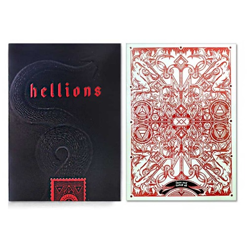 JLCC 헬리온스V2(Madison Hellions Playing Cards)